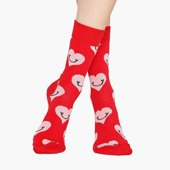 Skarpetki Happy Socks Red Hearts SMH01 4300