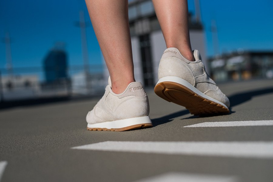 Buty Reebok Classic Leather CN4022 SZARY